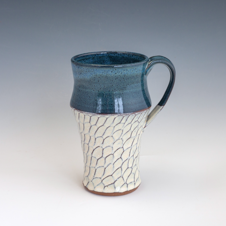 blue-carved-tall-mug