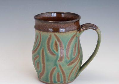 green-carved-leaf-mug
